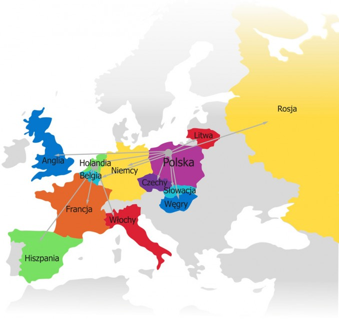 mapa obszar